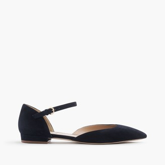 Lily suede flats $198 thestylecure.com