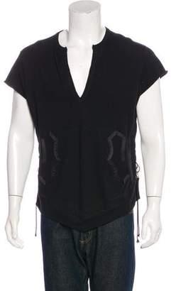 Number Nine Number (N)ine 2009 Silk-Trimmed Sweater Vest