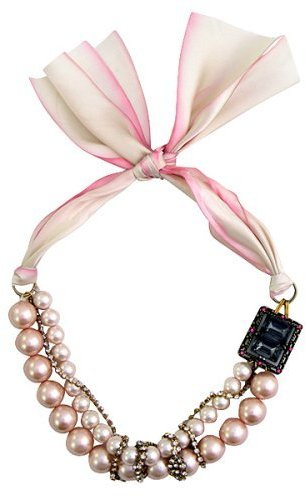 Subversive® for Target® Silk Crystal Beaded Necklace - Pink