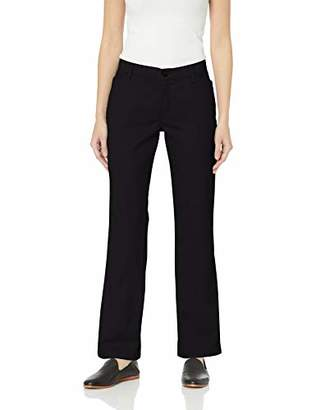 Lee Indigo Women's Stretch Twill Flat Front Pant