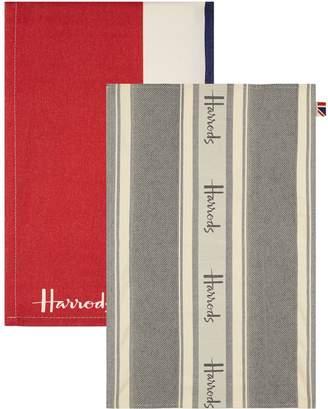 Harrods Union Jack Tea Towels (Set of 2)