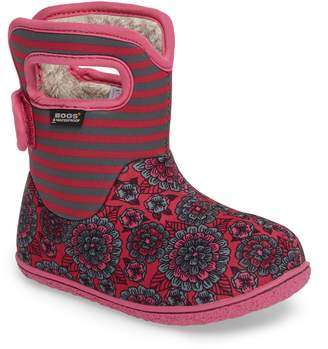 Bogs Baby Pansy Stripe Insulated Waterproof Boot