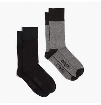 Levi's Levi's Regular Cut Microstripe Socks (2 Pack)