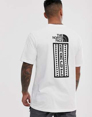 The North Face Rage Half Dome Heavyweight t-shirt in white