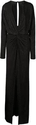 Prabal Gurung twist front long gown