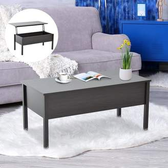 Winston Porter Flanagan Modern Lift Top Coffee Table with Storage