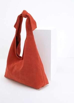 Mint Velvet Tess Orange Slouchy Shopper
