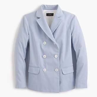 J.Crew Double-breasted blazer in Italian cotton