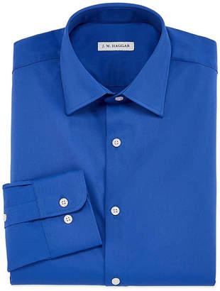 Haggar Long Sleeve Twill Dress Shirt - Slim