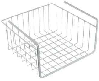 """Southern Homewares White Wire Under Shelf Storage Organization Basket, 11"""""""
