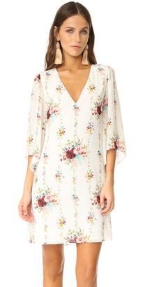 alice + olivia Shary V Neck Caftan Dress $285 thestylecure.com