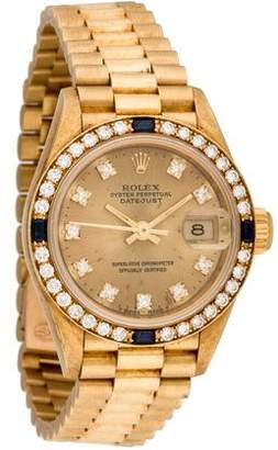 Rolex Datejust President Watch $10,250 thestylecure.com