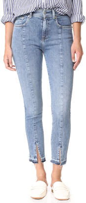 7 For All Mankind Ankle Skinny Jeans $229 thestylecure.com