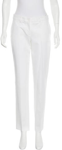 MICHAEL Michael KorsMichael Kors Mid-Rise Straight-Leg Jeans