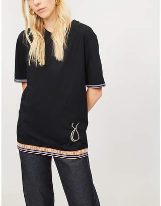 Loewe Lamp logo-print cotton-jersey T-shirt
