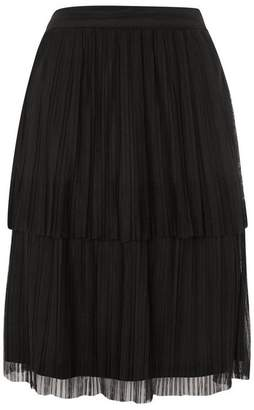 **Crinkle Layer Skirt by Lace & Beads