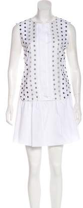 Thakoon Embroidered Mini Dress