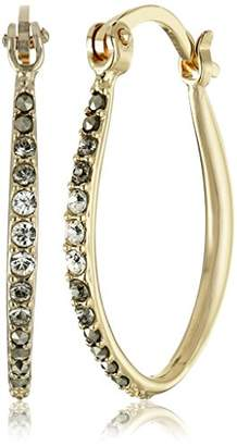 "Judith Jack Classics"" -Tone Sterling Silver Hoop Earrings"