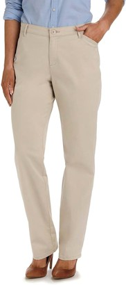 Lee Women's Relaxed Fit Straight-Leg Pants
