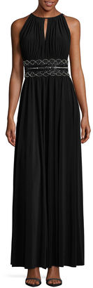 R & M Richards Sleeveless Embellished Fitted Gown-Talls $140 thestylecure.com