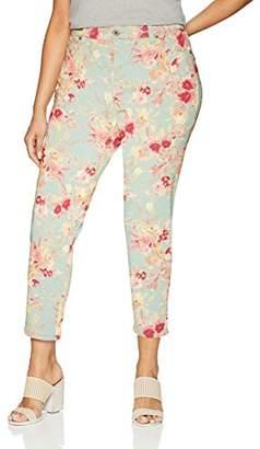 Bandolino Women's Plus-Size Mandie Slim Crop Jean