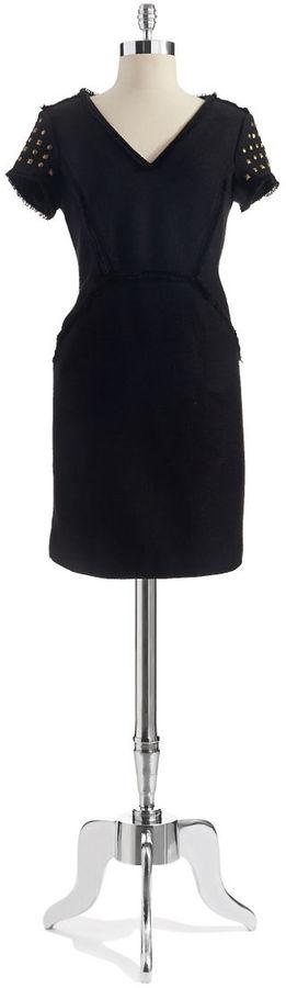 Adrianna Papell Textured Shift Dress
