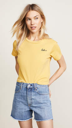 Amo Embroidered Tee