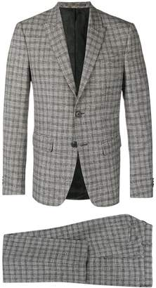 Givenchy checkered suit