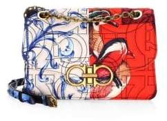 Salvatore Ferragamo Quilted Multi-Print Crossbody Bag