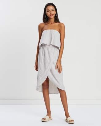 MinkPink Maisie Strapless Dress