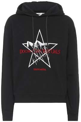 McQ Doom Cult Rituals cotton hoodie