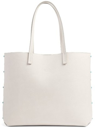 Chelsea28 Olivia Faux Leather Tote - Ivory $69 thestylecure.com