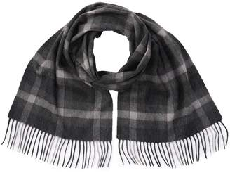 Stewart Of Scotland Cashmere Windowpane Scarf