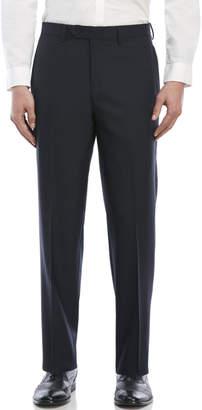 Lauren Ralph Lauren Navy Flat Front Wool Pants