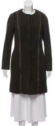 Tory Burch Wool Knee-Length Coat