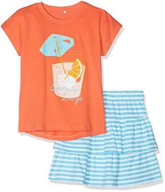 Name It Girl's Nkfvegas Set J Clothing, Multicolour Emberglow, (Size: -152)