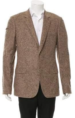 Calvin Klein Collection Baby Alpaca Two-Button Blazer