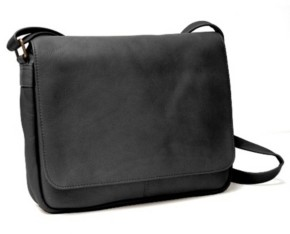 Royce Leather Royce Shoulder Bag in Colombian Genuine Leather