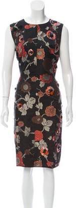 Marc Jacobs Silk-Blend Jacquard Dress