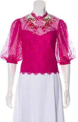 Temperley London Lace Crop Top w/ Tags