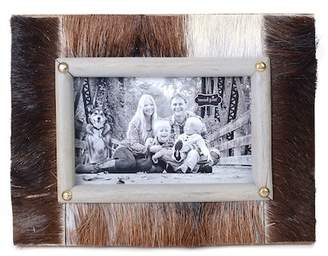 "Mud Pie 4""x 6\"" Cowhide Frame"