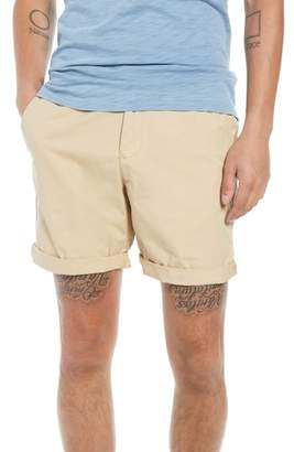 The Rail Washed Cuffed Shorts