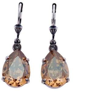 La Vie Parisienne Crystal Teardrop Earrings