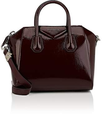 Givenchy Women's Antigona Small Patent Leather Duffel Bag