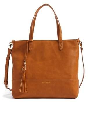 Bella Tunno Boss Faux Leather Diaper Bag & Clutch