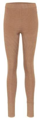 Jil Sander Knitted wool leggings