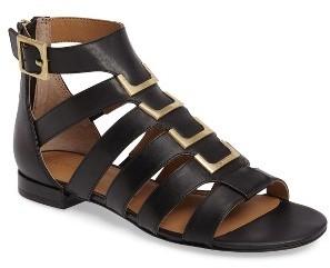 Women's Calvin Klein Estes Gladiator Sandal $138.95 thestylecure.com