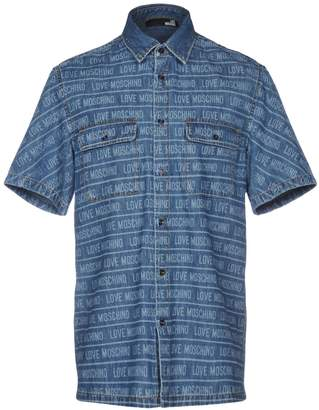 Love Moschino Denim shirts