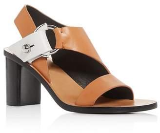 Rag & Bone Women's Arc Cutout Slingback Block-Heel Sandals