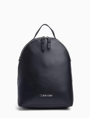 Calvin Klein Solid Round Crossbody Backpack